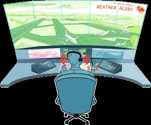 Weather status alert